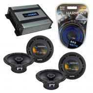 Compatible with Nissan Rogue 2008-2013 Factory Speaker Replacement Harmony (2) R65 & Harmony ...