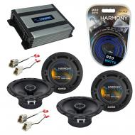 Compatible with Nissan Stanza 1990-1992 Factory Speaker Replacement Harmony (2) R65 & Harmony...