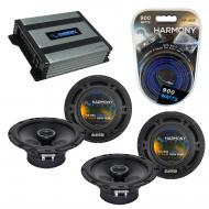 Compatible with Nissan Titan 2004-2007 Factory Speaker Replacement Harmony (2) R65 & Harmony ...
