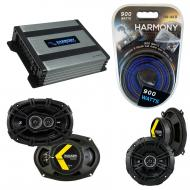 Compatible with Oldsmobile Aurora 1995-2000 Speaker Replacement Kicker DS Series & Harmony HA...