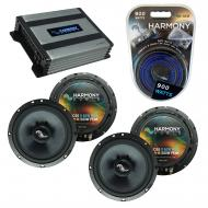 Compatible with Nissan Titan 2004-2007 Factory Speakers Replacement Harmony (2) C65 & Harmony...