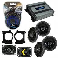 Compatible with Oldsmobile Bravada 1995-1997 Speaker Replacement Kicker DS Series & Harmony H...