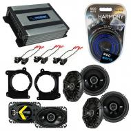 Compatible with Oldsmobile Bravada 1998-2001 Speaker Replacement Kicker DS Series & Harmony H...