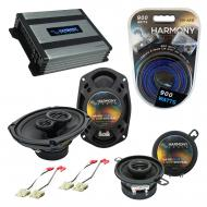 Compatible with Oldsmobile Cutlass Calais 1985-1991 OEM Speaker Replacement Harmony & Harmony...
