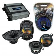 Compatible with Oldsmobile Eighty-Eight 1985-1985 OEM Speaker Replacement Harmony & Harmony H...