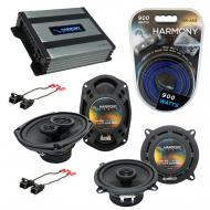 Compatible with Oldsmobile Intrigue 1998-2002 OEM Speaker Replacement Harmony Speakers & Harm...