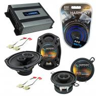 Compatible with Oldsmobile Ninety-Eight 1988-1993 OEM Speaker Replacement Harmony & Harmony H...