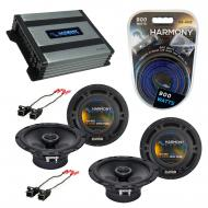 Compatible with Oldsmobile Silhouette 97-04 OEM Speaker Replacement Harmony Speakers & Harmon...