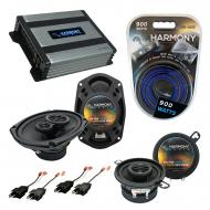 Compatible with Plymouth Gran Fury 1984-1989 OEM Speaker Replacement Harmony Speakers & Harmo...