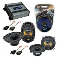 Compatible with Plymouth Turismo 1983-1987 OEM Speaker Replacement Harmony R5 R69 & Harmony H...