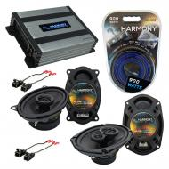 Compatible with Pontiac Bonneville 1988-1993 OEM Speaker Replacement Harmony Speakers & Harmo...