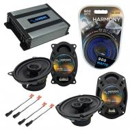 Compatible with Pontiac Grand AM 1996-2005 OEM Speaker Replacement Harmony R46 R69 & Harmony ...