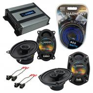 Compatible with Pontiac Grand Prix 1988-1993 OEM Speaker Replacement Harmony Speakers & Harmo...