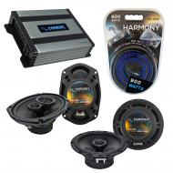 Compatible with Pontiac Grand Prix 2004-2008 OEM Speaker Replacement Harmony Speakers & Harmo...