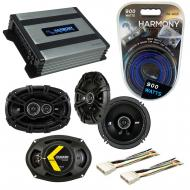 Compatible with Pontiac Grand Prix 2004-2008 Speaker Replacement Kicker DS Series & Harmony H...