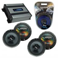 Compatible with Pontiac GTO 2004-2006 Factory Speakers Replacement Harmony (2) C65 & Harmony ...
