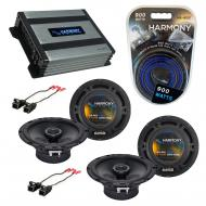 Compatible with Pontiac Montana 2000-2005 Factory Speaker Replacement Harmony (2) R65 & Harmo...