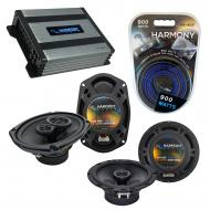 Compatible with Pontiac Montana SV6 2006-2007 OEM Speaker Replacement Harmony Speakers & Harm...