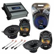 Compatible with Pontiac Sunfire 1995-1999 OEM Speaker Replacement Harmony R46 R69 & Harmony H...