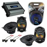 Compatible with Pontiac Sunfire 2000-2005 OEM Speaker Replacement Harmony R46 R69 & Harmony H...