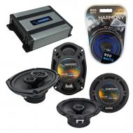Compatible with Pontiac G6 2005-2008 Factory Speaker Replacement Harmony R65 R69 & Harmony HA...