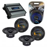 Compatible with Pontiac Torrent 2007-2009 OEM Speaker Replacement Harmony (2) R65 & Harmony H...