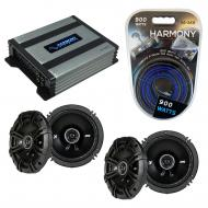 Compatible with Pontiac Torrent 2007-2009 Speaker Replacement Kicker (2) DSC65 & Harmony HA-A...