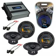 Compatible with Pontiac TransSport 1997-1999 OEM Speaker Replacement Harmony (2) R65 & Harmon...