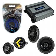 Compatible with Pontiac TransSport APV 1990-1992 Speaker Replacement Kicker DS & Harmony HA-A...