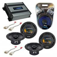 Compatible with Pontiac Vibe 2003-2008 Factory Speaker Replacement Harmony (2) R65 & Harmony ...
