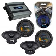 Compatible with Pontiac Vibe 2009-2010 Factory Speaker Replacement Harmony (2) R65 & Harmony ...