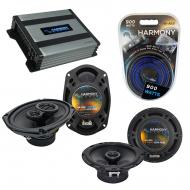 Compatible with Pontiac G5 2005-2006 Factory Speaker Replacement Harmony R65 R69 & Harmony HA...