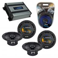 Compatible with Porsche Cayenne 2002-2006 Factory Speaker Replacement Harmony (2) R65 & Harmo...