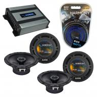 Compatible with Saab 9-3 1999-2006 Factory Speaker Replacement Harmony (2) R65 & Harmony HA-A...