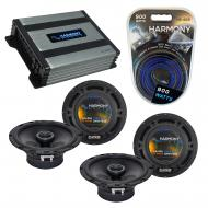 Compatible with Saab 9-5 1998-2005 Factory Speaker Replacement Harmony (2) R65 & Harmony HA-A...