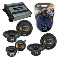 Compatible with Saab 9-7x 2005-2009 Factory Speaker Replacement Harmony R65 R35 & Harmony HA-...