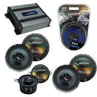Compatible with Saab 9-7x 2005-2009 Factory Speakers Replacement Harmony C65 C35 & Harmony HA...