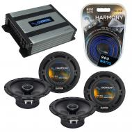 Compatible with Saturn Astra 2008-2009 Factory Speaker Replacement Harmony (2) R65 & Harmony ...