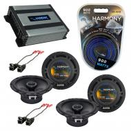Compatible with Saturn L Series 2000-2005 OEM Speaker Replacement Harmony (2) R65 & Harmony H...