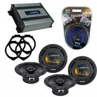 Compatible with Saturn Outlook 2007-2009 OEM Speaker Replacement Harmony (2) R65 & Harmony HA...