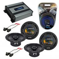 Compatible with Saturn S Series 2000-2002 OEM Speaker Replacement Harmony (2) R65 & Harmony H...