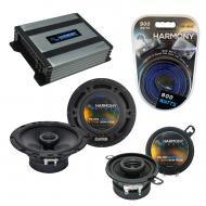 Compatible with Saturn Sky 2006-2009 Factory Speaker Replacement Harmony R65 R35 & Harmony HA...