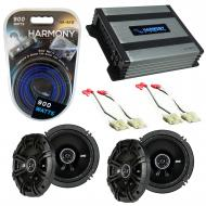 Compatible with Saturn SL1/SL2/Sport Coupe 1991-1999 Speaker Replacement Kicker DS & Harmony ...