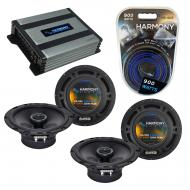 Compatible with Saturn VUE 2002-2003 Factory Speaker Replacement Harmony (2) R65 & Harmony HA...