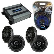 Compatible with Saturn VUE 2002-2003 Factory Speaker Replacement Kicker (2) DSC65 & Harmony H...