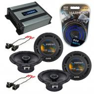 Compatible with Saturn VUE 2004-2005 Factory Speaker Replacement Harmony (2) R65 & Harmony HA...