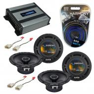Compatible with Scion tC 2005-2010 Factory Speaker Replacement Harmony (2) R65 & Harmony HA-A...