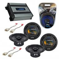 Compatible with Scion tC 2014-2014 Factory Speaker Replacement Harmony (2) R65 & Harmony HA-A...