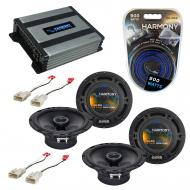 Compatible with Scion X3 XZ 2011-2013 Factory Speaker Replacement Harmony (2) R65 & Harmony H...