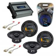 Compatible with Scion xB 2004-2015 Factory Speaker Replacement Harmony (2) R65 & Harmony HA-A...